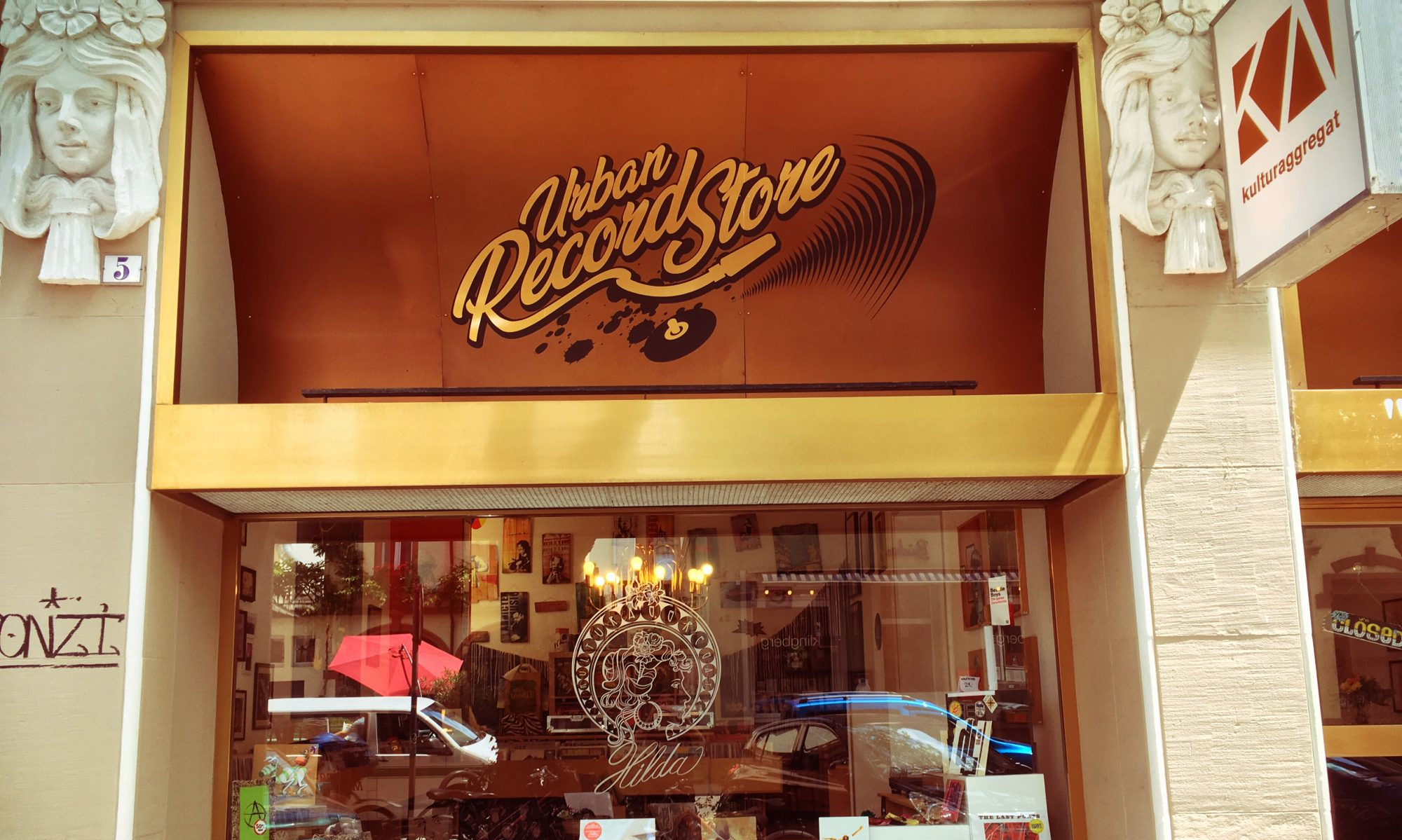 Urban Record Store